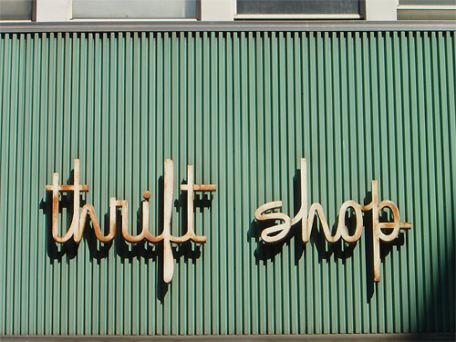 Inspire others to THRIFT