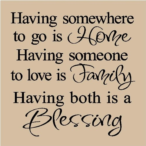 A Blessing…
