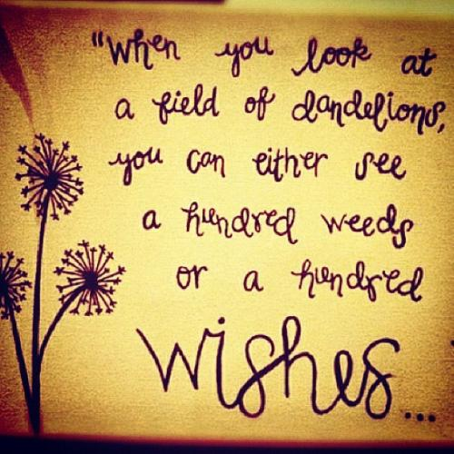 Inspirational Monday: Wishes